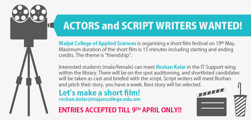 Movie writers wanted