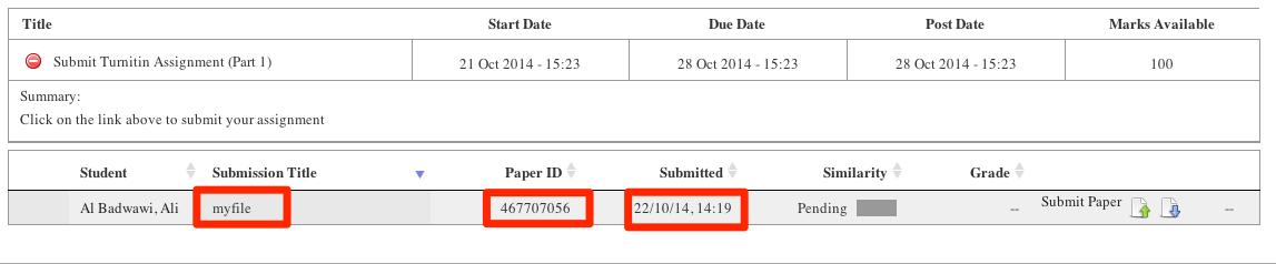 Confirm paper
